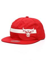 Mitchell & Ness - Chicago Bulls Reflective Stripe Pinch Panel Snapback Hat-2218037