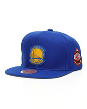 NBA, MLB, NFL Gear - Golden State Warriors Silicone Grass Snapback Hat-2218030