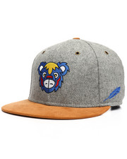 Hats - Blue Bear Strapback Hat-2218036