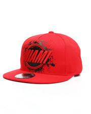 Hats - Painted Miami Snapback Hat-2218016