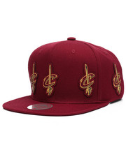 Mitchell & Ness - Cleveland Cavaliers Multi Logo Snapback Hat-2218031