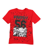 Parish - Crimson Red Graphic Tee (8-20)-2216256