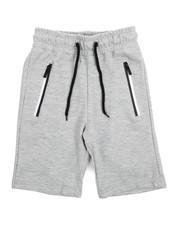 Bottoms - Tech Fleece Shorts/2 Tone Heal Zeal Zipper (8-20)-2218176