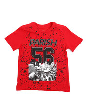 Parish - Crimson Red Graphic Tee (4-7)-2216261