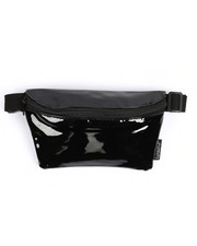 Scratch Tracks - Solid Black Patent Fanny Pack-2218129
