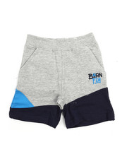 Bottoms - Live Fly French Terry Shorts (2T-4T)-2217433