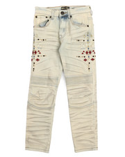Jeans - Bike Fit Embroidery And Stud Jeans (8-20)-2217297