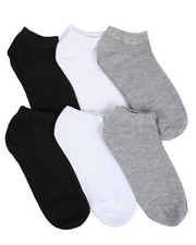 DRJ SOCK SHOP - Isaac Mizrahi 6 Pack Socks-2219143