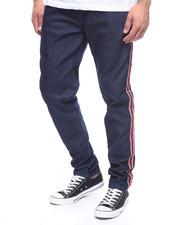 Jeans & Pants - STRIPE TRIM JEAN-2218980
