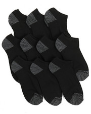 Socks - Pro Player 10 Pack Terry No Show Socks-2214529