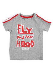 Born Fly - Classics Sleeve Taping Tee (2T-4T)-2217362