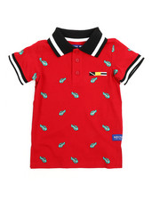 Arcade Styles - All Over Print Polo (2T-4T)-2218139