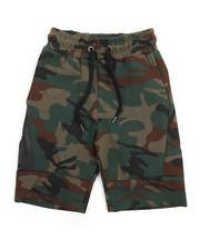 Boys - Tech Fleece Shorts w/Wrap Around Heat Zipper (8-20)-2219279