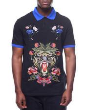 Hudson NYC - Floral Tiger Polo Shirt-2220255