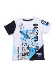 Born Fly - Live Fly Printed Tee (2T-4T)-2217384
