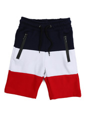 Shorts - Tech Fleece Color Block Shorts (8-20)-2218152