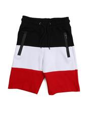Bottoms - Tech Fleece Color Block Shorts (8-20)-2218200