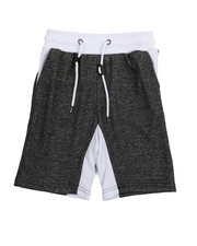 Shorts - Marled French Terry Shorts (8-20)-2219509