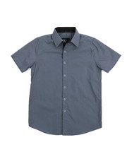 Boys - Solid Woven Shirt (8-20)-2219082