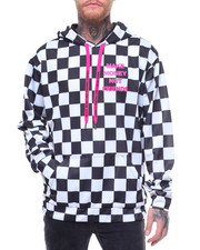 MAKE MONEY NOT FRIENDS - CHECKER HOODIE MMNF LOGO HOODIE-2219794