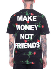 MAKE MONEY NOT FRIENDS - ALL OVER ROSE MMNF TEE-2218520