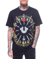 Global Movement Mens - GOTHIC SWORDS TEE-2220531