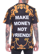 MAKE MONEY NOT FRIENDS - LUXURY MMNF LOGO TEE-2219764