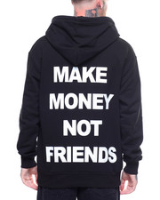 MAKE MONEY NOT FRIENDS - ORIGINAL MMNF LOGO HOODIE-2220027