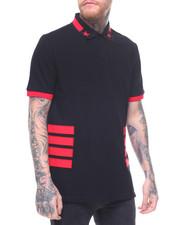 Hudson NYC - STAR & Side Stripe Polo Shirt-2220627