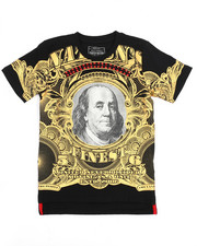 Tops - Mo Money Pyramid Stud Graphic Tee (8-20)-2220355