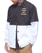 MAKE MONEY NOT FRIENDS - COLOR BLOCK MMNF COACHES JACKET-2218482