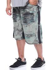 Shorts - Rip & Repair Denim Short (B&T)-2218091