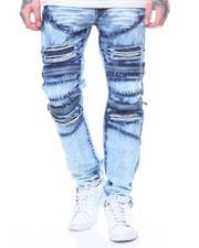 Jeans & Pants - DOUBLE ZIPPER KNEE JEAN-2220511