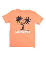 Converse - Palm Tree Hoops Tee (8-20)-2219123
