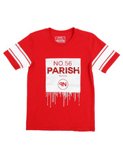 Parish - Lux Life Metallic Print Graphic Tee (8-20)-2220345