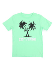 Converse - Palm Tree Hoops Tee (8-20)-2219117