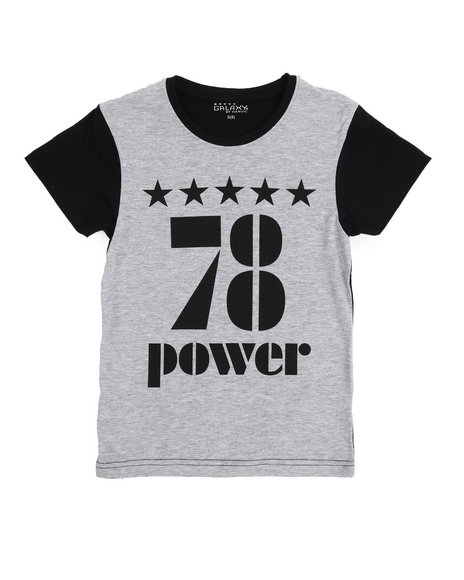 3b8058edd5fba Buy 78 Power Crew Neck Tee (8-20) Boys Tops from Arcade Styles. Find ...