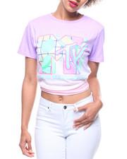 Tops - MTV HILow Dip Dye Tee-2218569