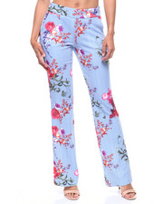 Bottoms - Floral Stripe Pant-2220181