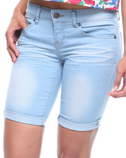 Bottoms - Denim Bermuda-2220215