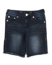 True Religion - TR Stretch Denim Shorts (4-7)-2220732