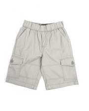 Bottoms - Pull On Twill Cargo Shorts (8-20)-2220462