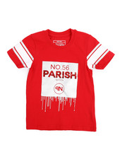 Parish - Lux Life Metallic print Graphic Tee (4-7)-2220793