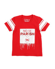 Parish - Lux Life Metallic Print Graphic Tee (2T-4T)-2220789