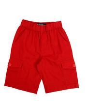 Akademiks - Pull On Twill Cargo Shorts (8-20)-2220476