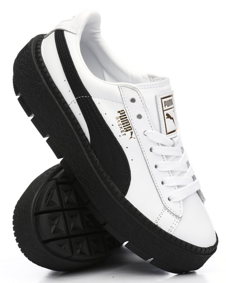 brand new dfa3c 9b449 Buy Platform Trace L Sneakers Women's Footwear from Puma ...