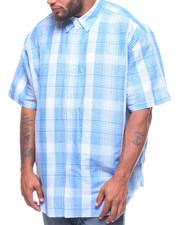 Chaps - H-Linen Cotton Shirt (B&T)-2220747