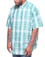 Button-downs - H-Linen Cotton Shirt (B&T)-2220756