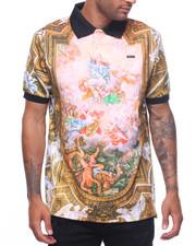 Short-Sleeve - Baroque Polo Shirt-2221575