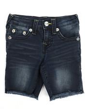 True Religion - TR Stretch Denim Shorts (2T-4T)-2220777